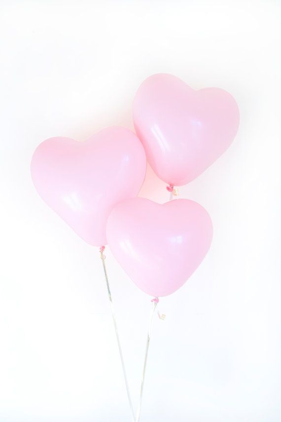 Our Pink Heart Balloons are perfect for your Valentines Day Party, Engagement…