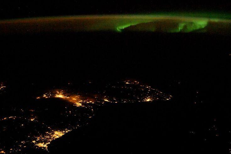 FYI: Aurora Over Scotland Thanks To Randy Bresnik on Twitter!