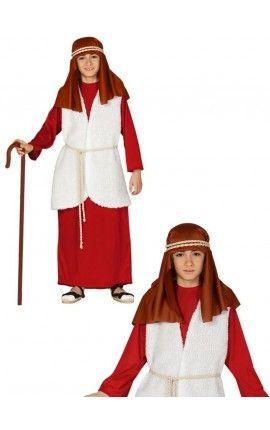 disfraz de pastor hebreo rojo para nio