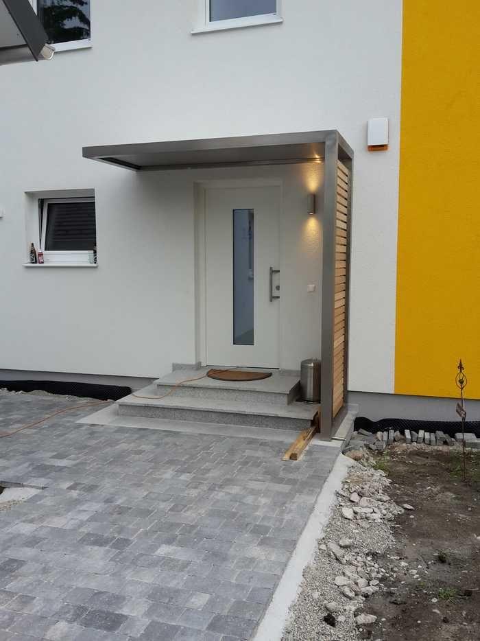 Vordach Sibirische Larche Krylco In 2019 Vordach Hauseingang