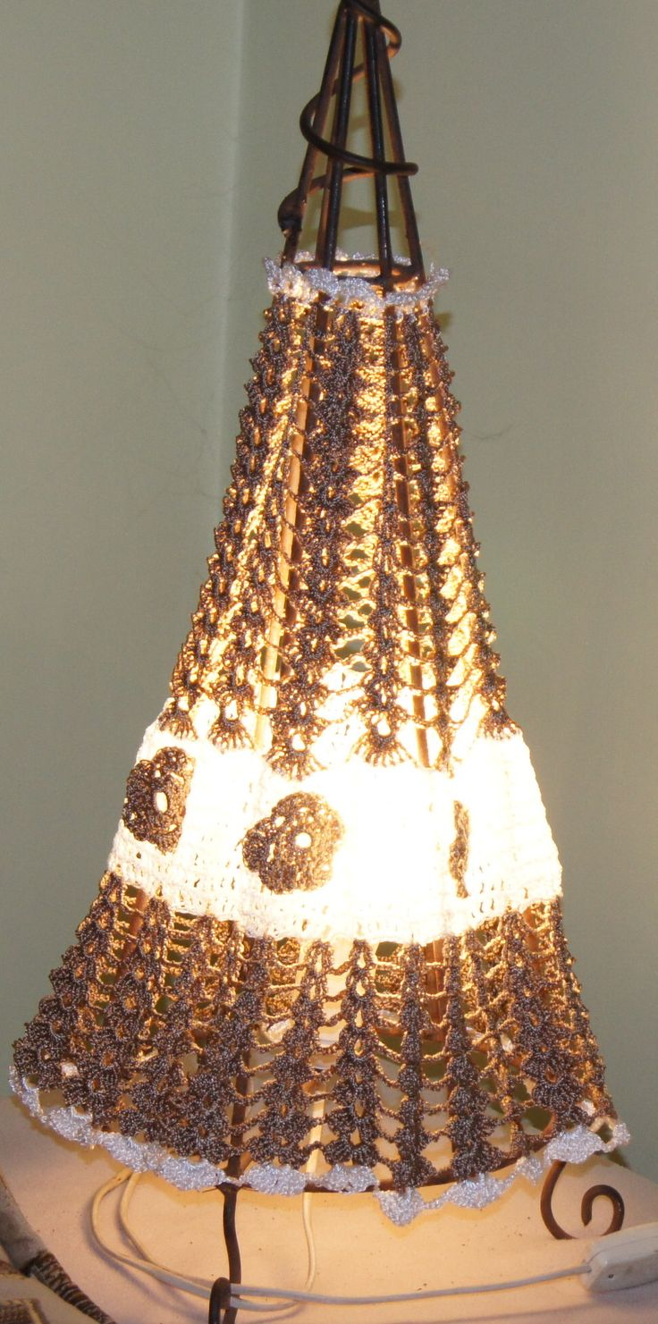 odnowiona stara lampka