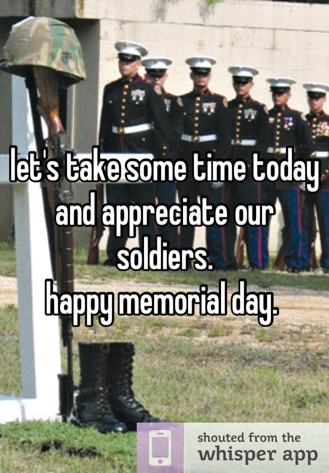 happy memorial day speech