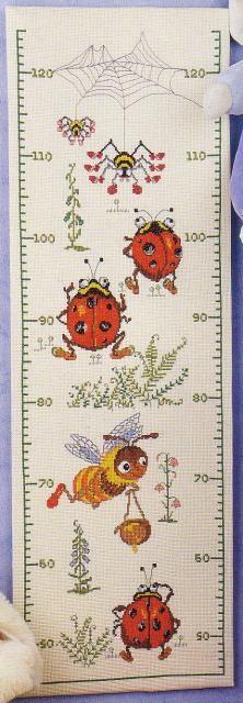 Схема вышивания крестом - Ростомер