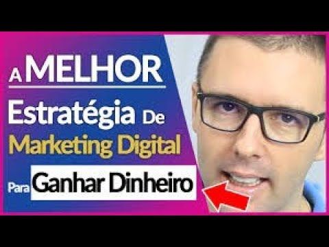 DESCUBRA a Melhor Estratégia de MARKETING DIGITAL para GANHAR DINHEIRO na Internet.   Esta estratégia, com certeza quando você começar a aplica-la ou melhorar a aplicação dessa estratégia se você já trabalha com ela hoje, com certeza Vai fazer com que seu negócio online cresça muito mais