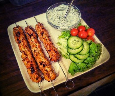 Extra Lean Turkey Kebabs (On Skewers) (High Protein/Low Fat) Recipe