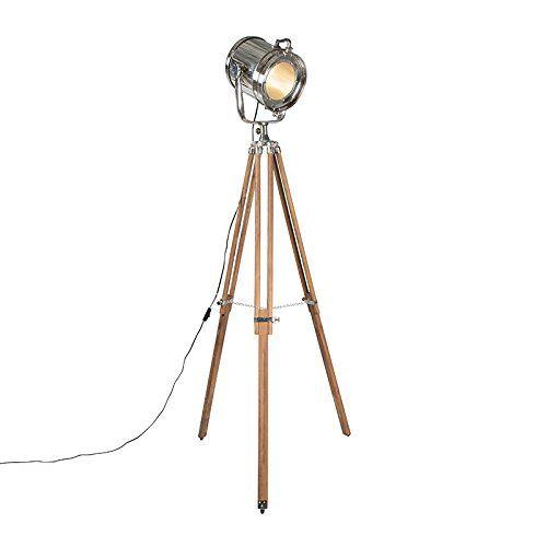 QAZQA Design Industrie Modern Stehleuchte Stehlampe Standleuchte Lampe Leuchte