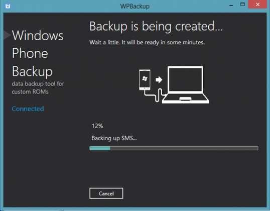 WPBackup Come fare un backup completo di un telefono Windows Phone