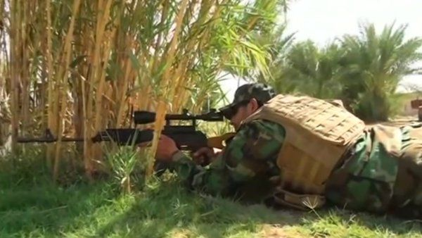 Watch the video Iraqi fighters say 'no thanks' to U.S. air strikes on Yahoo News . Iraqi Shi'ite fighters say they do not need outside help as they push to reclaim the area of Jarf Al Sakher from Islamic State militants. Vanessa Johnston reports.