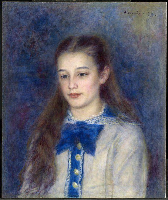 Therese Berard ~ Pierre-August Renoir
