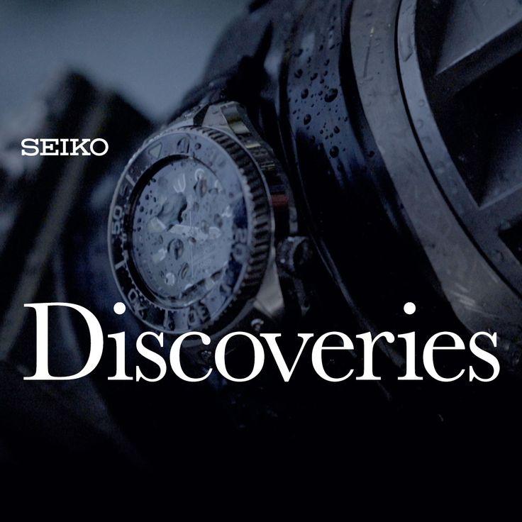 """セイコーのブランドアイデンティティーに通じる人の姿を捉えたドキュメンタリーフィルム""""Discoveries""""。"""