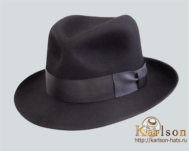 Шляпа федора мужская купить