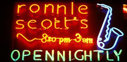Ronnie Scott's Jazz Club, Soho, London, UK