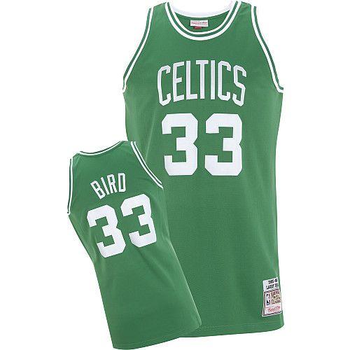 huge selection of 2b4e5 2af6a boston celtics larry bird 33 green swingman jersey sale