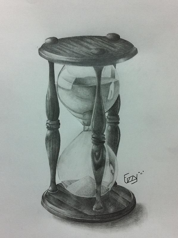 Hourglass Tattoo; like sands through the hourglass so are the days of our lives