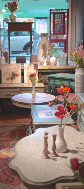 Handbemalte Möbel Möbelstücke Kreidefarbe Handarbeit DIY Workshops