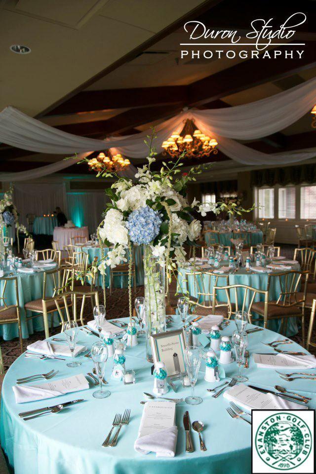 Tiffany Blue Wedding Reception Gallery - Wedding Decoration Ideas