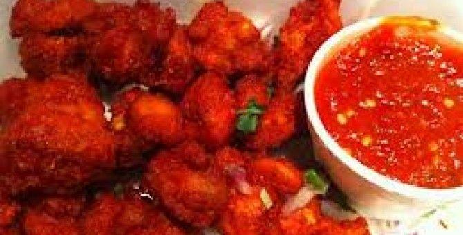 How to Prepare Crispy Chicken 65