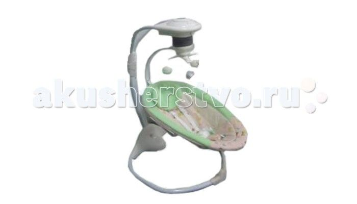 Электронные качели Jetem Palladio с адаптером  Электронные качели Jetem Palladio с адаптером - новые стильные электрокачели для новорожденных. Очень мобильная модель предназначена специально для родителей, которые не сидят на месте.   Имеется 3 скорости укачивания. Направление качания - вперед-назад.  Качели оснащены регулировкой громкости и таймером. Блок проигрывает 6 мелодий. Электрокачели могут работать как от сети, так и на батарейках. Кроме того, в комплекте съемная дуга с игрушками…