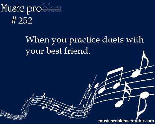 I'd like to, but none of my friends play music instruments....