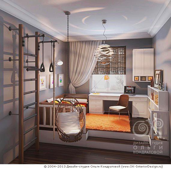 3D дизайн детской комнаты для девочки - http://www.ok-interiordesign.ru/ph_dizain-detskoy-komnaty.php