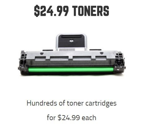 Buy #cheap #toner #cartridges from 499ink.com, starts from $24.99 each.  Visit