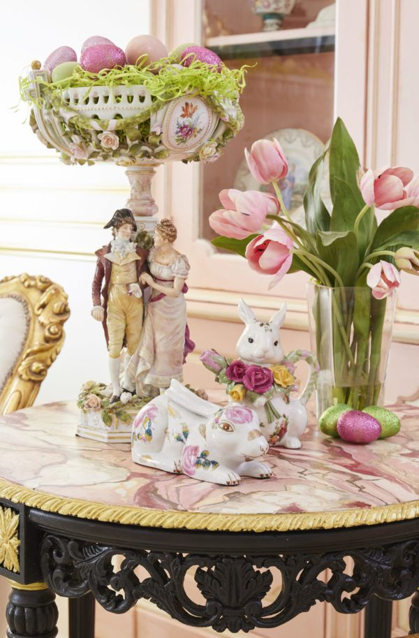 My Easter Living Room Easter Decorations Easter Inspiration Decor Easter Bunny Decorations Easter decorations for living room