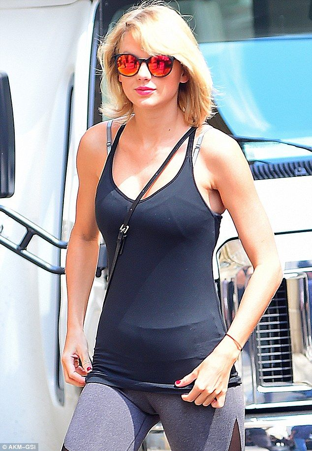 Shake It Off! Taylor Swift heads to dance class in cut-out leggings