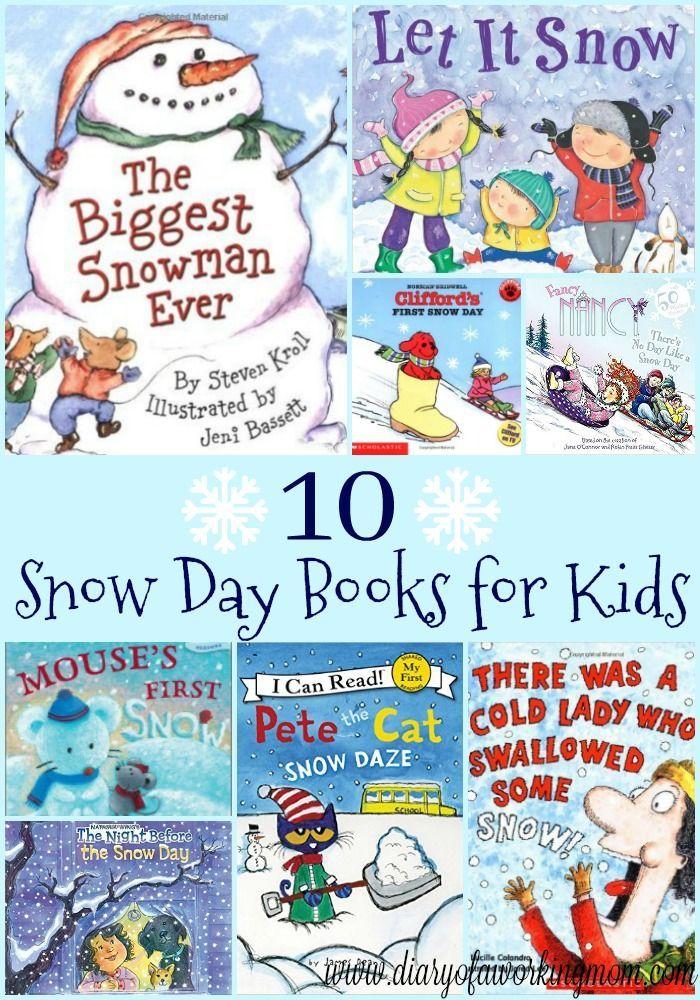 10 Snow Day Books For Kids Kids Books List Day Book Winter Books