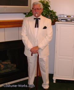 KFC - Colonel Sanders Costume - Halloween Costume Contest