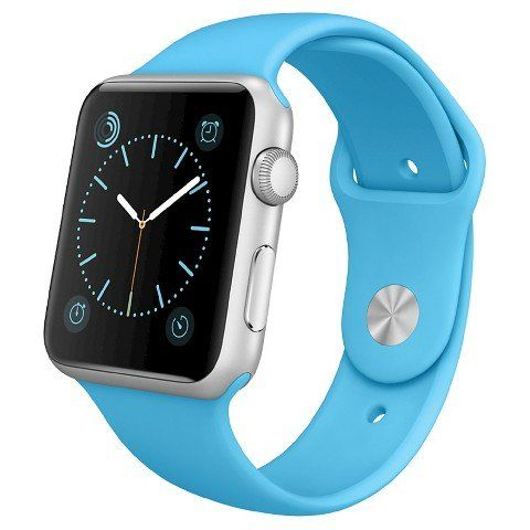 Apple Watch Sport 38mm Silver Aluminum Case - Blue Sport Band. This refurbished product is tested and certified to look and work like new. The refurbishing process includes functionality testing, basic cleaning, inspection, and repackaging. The product ships with all relevant accessories, and may arrive in a generic box.