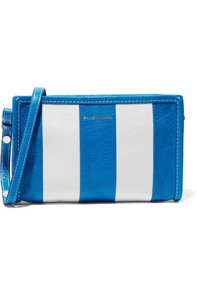 BALENCIAGA Bazar Striped Bag