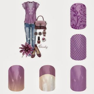 Purple Lavendar Nails Outfit Emily Pearson - Jamberry Independent Nail Consultant emilypearson.jamberrynails.net webejamminnails.blogspot.com