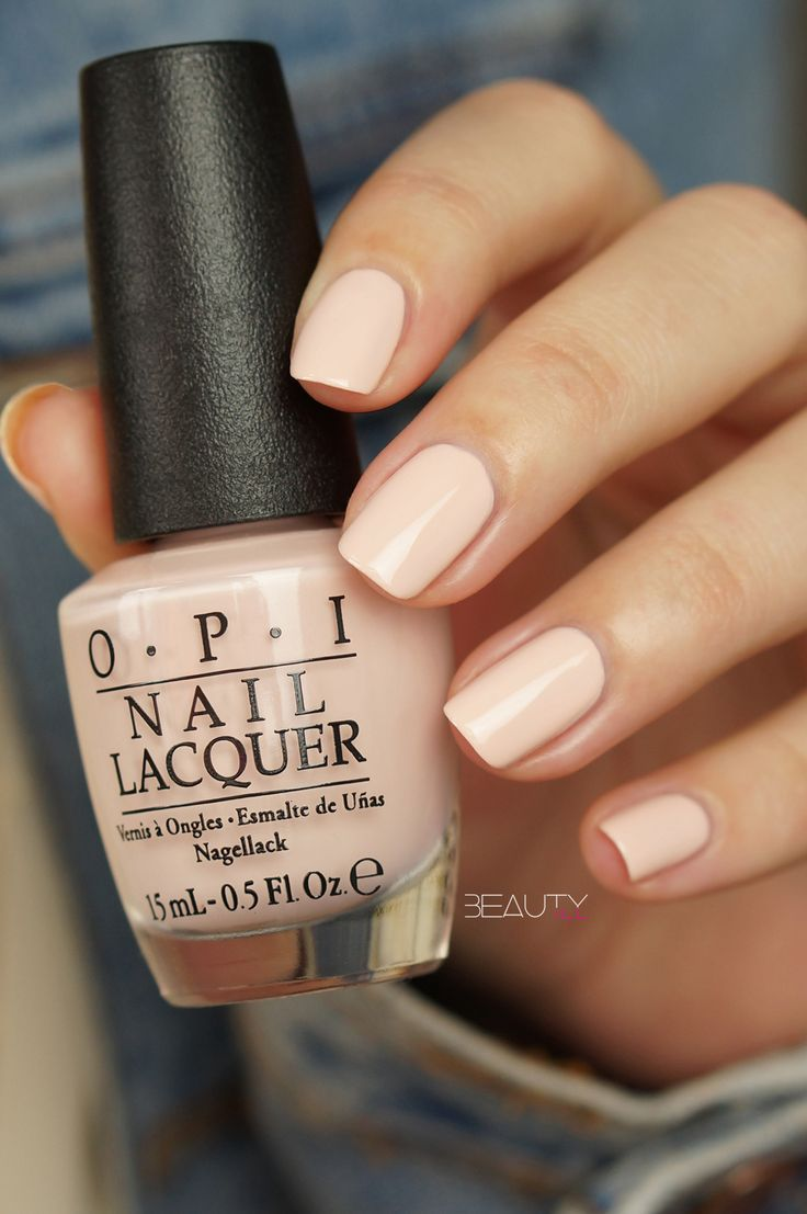 Opi Stop it I'm Blushing - the perfect shade of blush pink for summer!