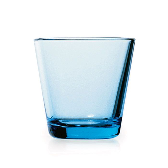 Kartio Glas-Becher Hellblau Iittala