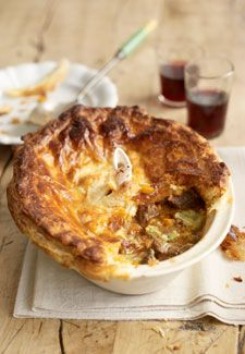 Christmas recipes: Steak and stilton pie - Woman's Own