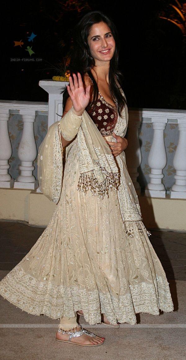 Katrina Kaif In Anarkali Dress