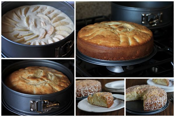 Torta-di-Mele-Collage- Italian Apple Cake by Barbara-Bakes  ( i took out the cinnamon and did a lime glaze) moist geat next day too