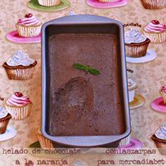 Helado de chocolate con tagatosa