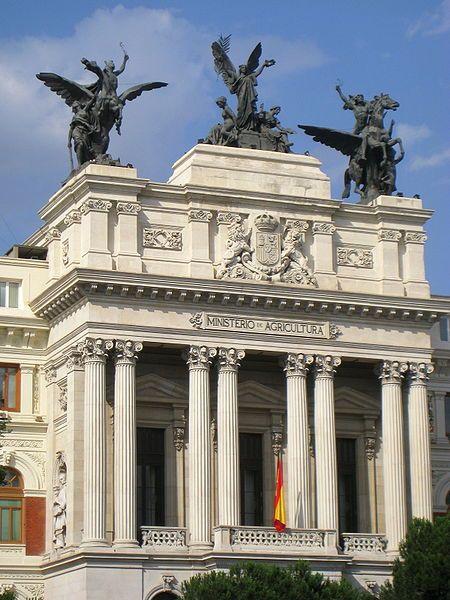 Ministerio de Agricultura.  Madrid.