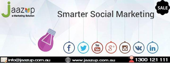 """LOOKING for INEXPENSIVE social media marketing?"" Here you go!! We have solution to your problem. http://ift.tt/2eMUpgn #SocialMediaMarketingInAustralia #SMM #SMO #SEM #Jaazup - http://ift.tt/1HQJd81"
