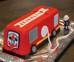 """Résultat de recherche d'images pour """"camion de pompier gateau"""""""