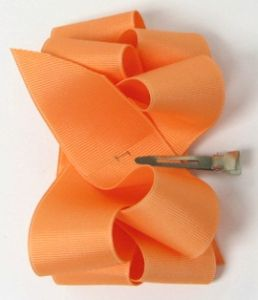 How To Make 2-Layer Boutique Hairbow/Hair Bow Instruction-Part 1 : Hip Girl Boutique LLC, Free Hairbow Instructions, Ribbons, Hair Bows and Clips, Hairbow Hardware and More