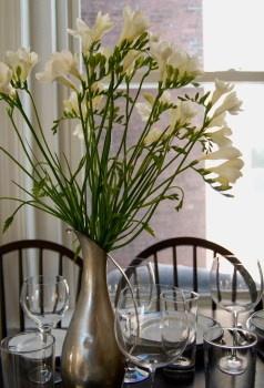 Flowers to Share, Freesia Vase Arrangement