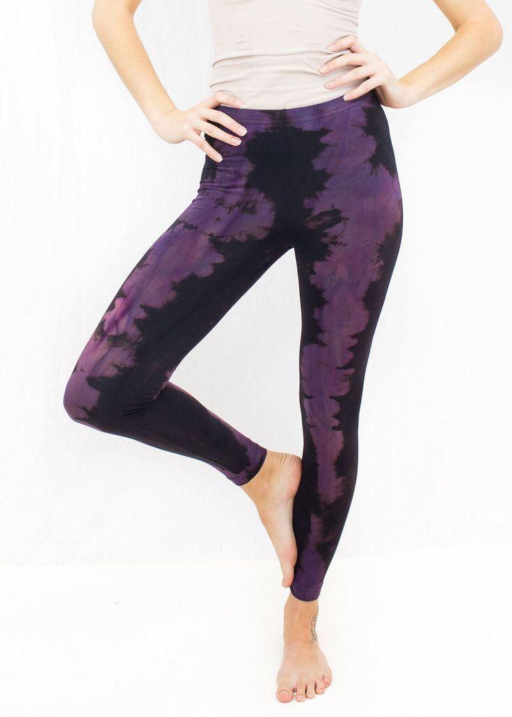 SALE!! Purple Yoga Leggings High Waisted Maternity Leggings Maternity Leggings Bamboo Sacred Geometry Yoga Leggings Tie Dye Yoga Legging (40.00 USD) by MashaApparel