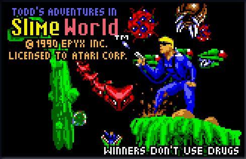 atari lynx slimeworld - Google zoeken