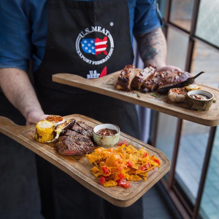 "«USA Beef Festival» at M""EAT #meat #meatbybeat #meatrestaurant #steakhouse #steaks #azerbaijan #baku #restaurants #food #cuisine #beef #veal #meatfestival"
