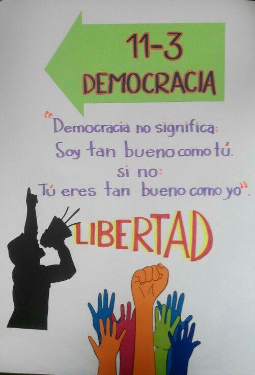 Cartelera democracia