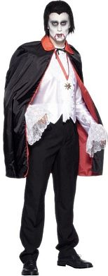 Reversible Red & Black Cape Halloween Costume http://www.partypacks.co.uk/reversible-red-and-black-cape-pid67788.html