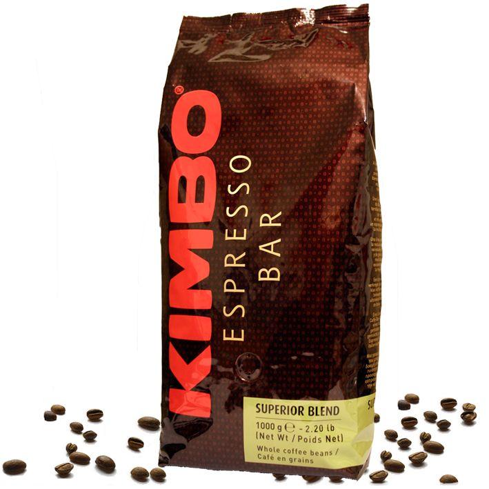 Kimbo Superior Blend Kaffee Espresso 1kg Bohnen