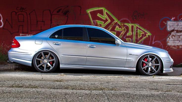 Mercedes-Benz W211 E55 AMG Vossen Wheels | BENZTUNING | MB, Maybach, Smart